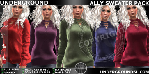 ALLY SWEATER & DRESS *